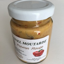 Moutarde au poivron rouge