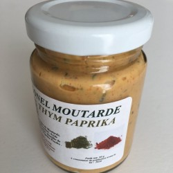 Moutarde thym paprika