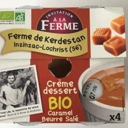 Crème dessert caramel au...