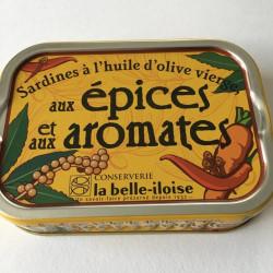 Sardines aux épices et...