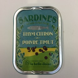 Sardines au poivre de Timut