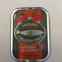 Sardines  cuisinées à...
