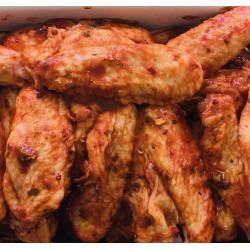 Ailes de poulet marinées à...
