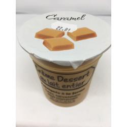 Crème dessert au caramel