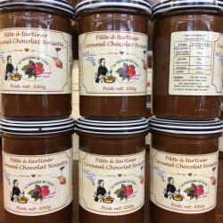 Caramel chocolat noisette