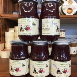 Compote pommes cassis