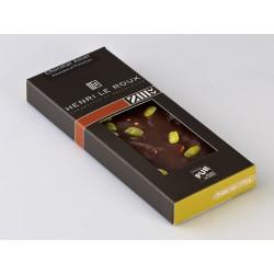 Chocolat amandes et pistaches