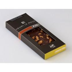 Chocolat amandes caramélisées