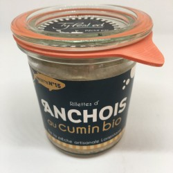 Rillettes d'anchois au...