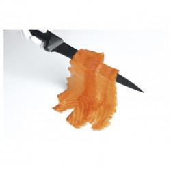 2 tranches de saumon bio fumé