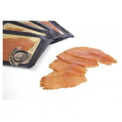 4 tranches de saumon fumé...