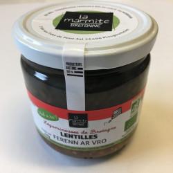 Lentilles de Bretagne au...