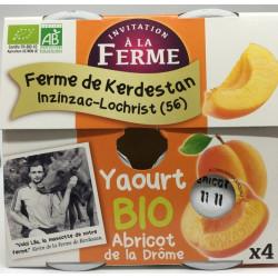 Yaourt bio Abricot de la Drôme