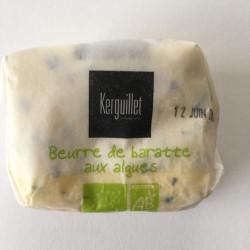Beurre bio aux algues