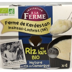 Riz au lait bio nature