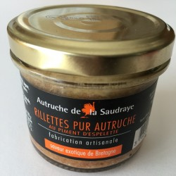 Rillettes au piment...