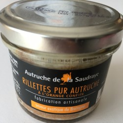 Rillettes à l'orange confite