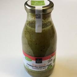 Courgettes vertes et celeri